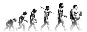 Vous avez dit évolution ?